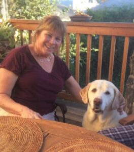 Oakland Dog Trainer, Jayne Franklin with her dog, Oliver